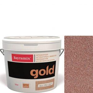 "Фото 24 - Мраморная штукатурка Байрамикс ""Минерал Голд GR 008"" (Mineral Gold) мозаичная, фракция 1,0-1,5 мм [15кг] Bayramix."