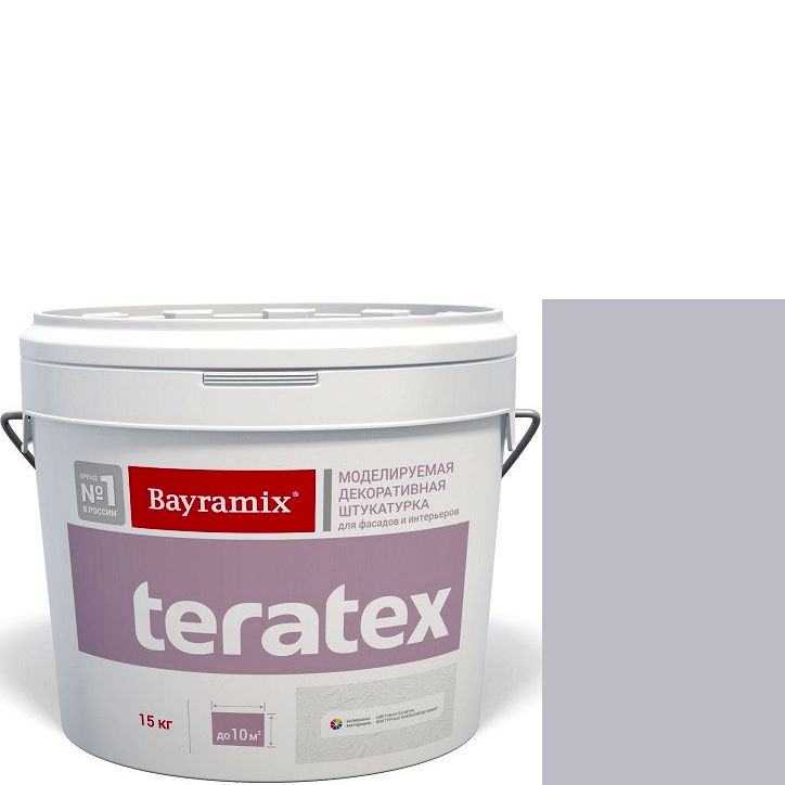 """Фото 13 - Текстурное покрытие Байрамикс """"Тератекс 076"""" (Teratex) текстурное моделируемое с эффектом """"крупная шуба""""  [15кг]  Bayramix."""