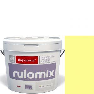 """Фото 10 - Текстурное покрытие Байрамикс """"Руломикс 071"""" (Rulomix) фактурное с эффектом """"мелкая шуба""""  [15кг]  Bayramix."""