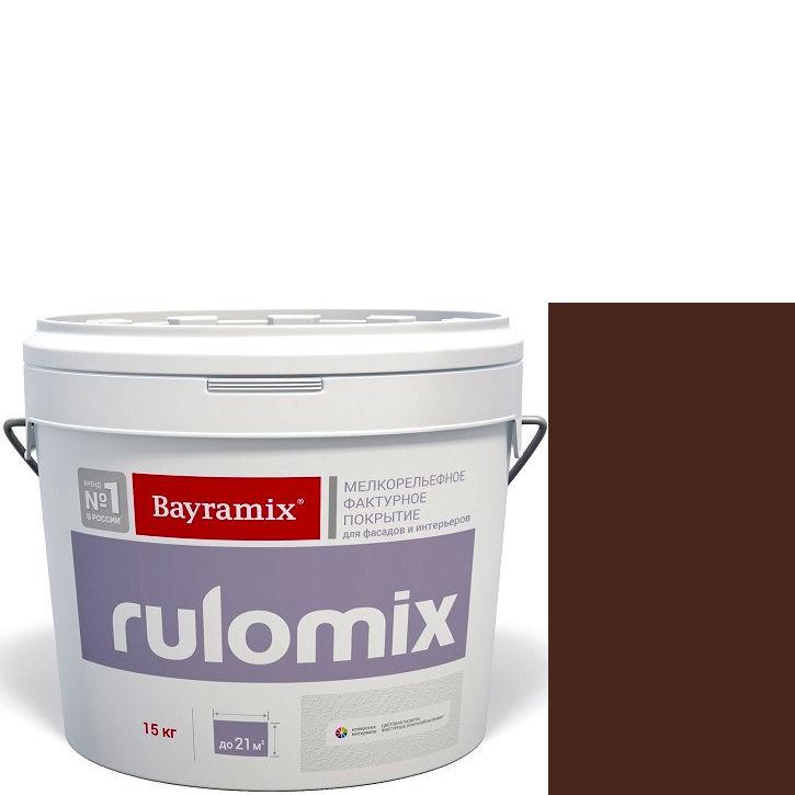 """Фото 23 - Текстурное покрытие Байрамикс """"Руломикс 084"""" (Rulomix) фактурное с эффектом """"мелкая шуба""""  [15кг]  Bayramix."""