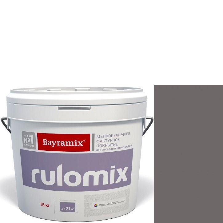 """Фото 24 - Текстурное покрытие Байрамикс """"Руломикс 085"""" (Rulomix) фактурное с эффектом """"мелкая шуба""""  [15кг]  Bayramix."""