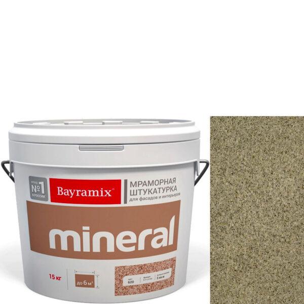 "Фото 1 - Мраморная штукатурка Байрамикс ""Минерал 050"" (Mineral цвет Saftas) мозаичная, фракция 0,5-0,7 мм  [15кг]  Bayramix."