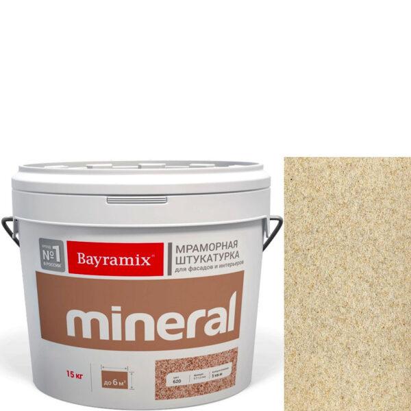 "Фото 1 - Мраморная штукатурка Байрамикс ""Минерал 051"" (Mineral цвет Saftas) мозаичная, фракция 0,5-0,7 мм  [15кг]  Bayramix."