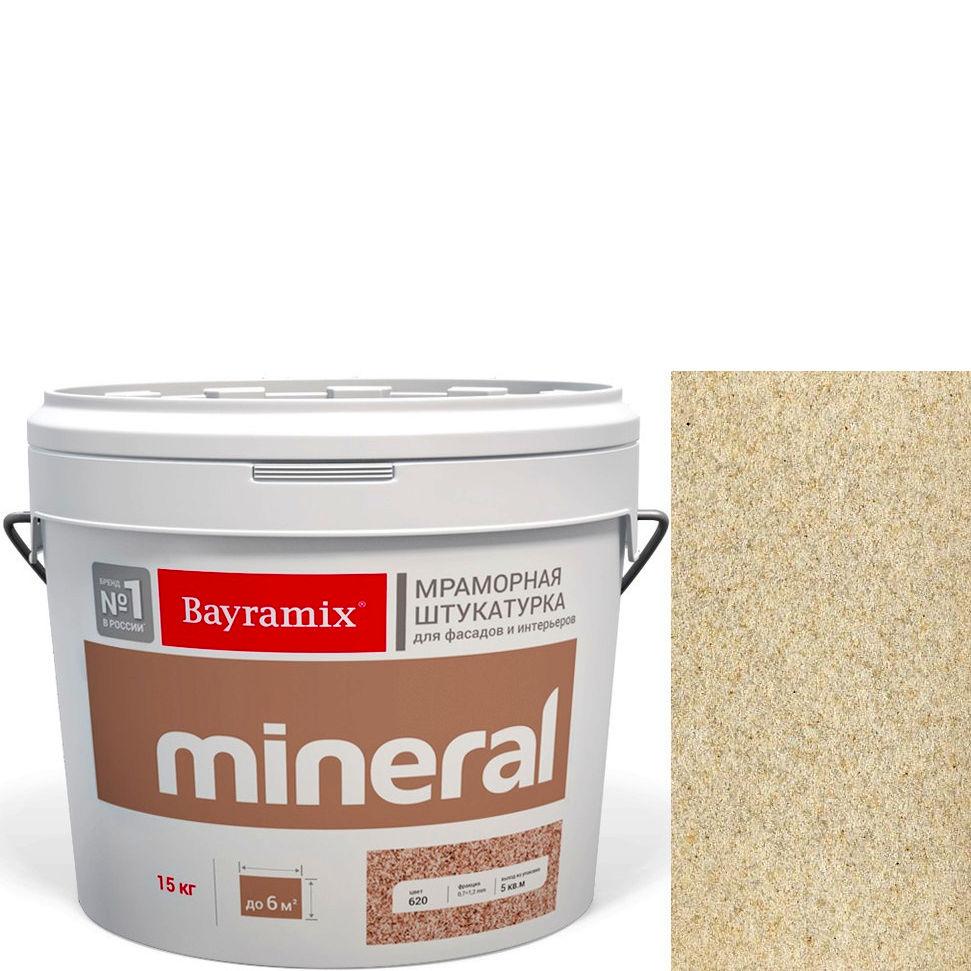 "Фото 2 - Мраморная штукатурка Байрамикс ""Минерал 051"" (Mineral цвет Saftas) мозаичная, фракция 0,5-0,7 мм [15кг] Bayramix."