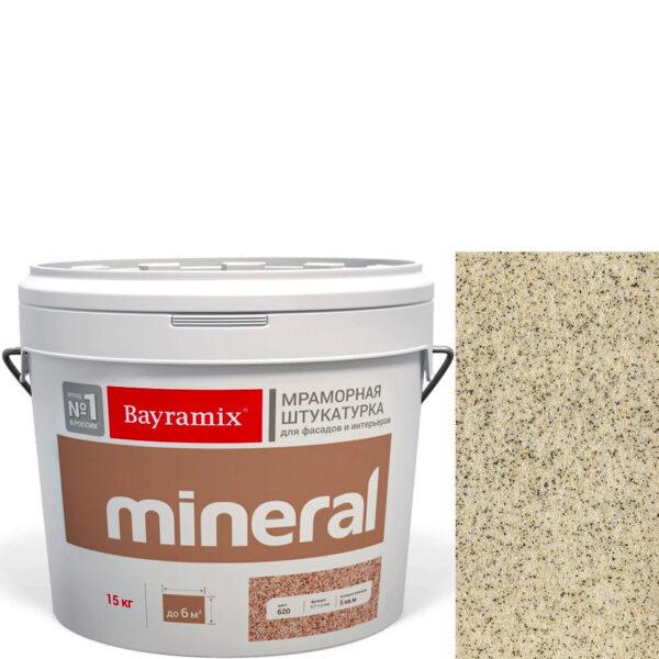 "Фото 1 - Мраморная штукатурка Байрамикс ""Минерал 052"" (Mineral цвет Saftas) мозаичная, фракция 0,5-0,7 мм  [15кг]  Bayramix."