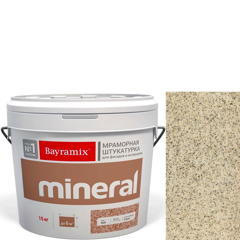 "Фото 3 - Мраморная штукатурка Байрамикс ""Минерал 052"" (Mineral цвет Saftas) мозаичная, фракция 0,5-0,7 мм [15кг] Bayramix."