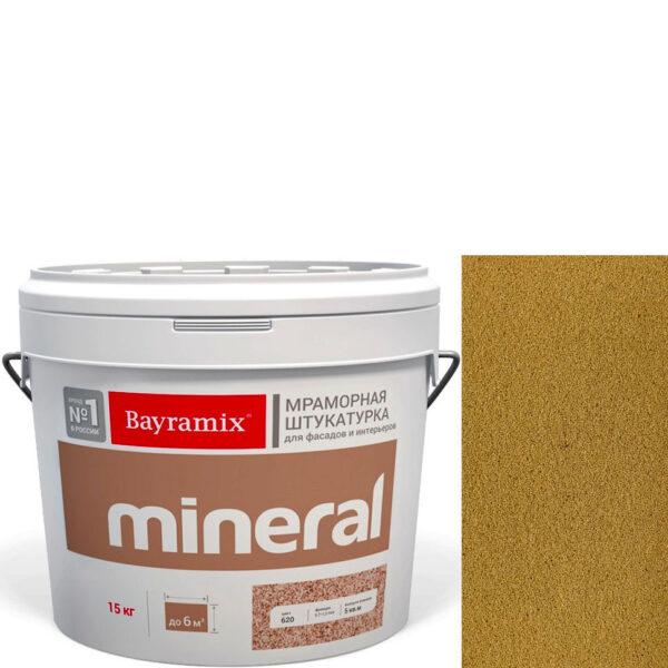 "Фото 1 - Мраморная штукатурка Байрамикс ""Минерал 056"" (Mineral цвет Saftas) мозаичная, фракция 0,5-0,7 мм  [15кг]  Bayramix."