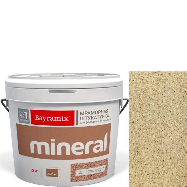"Фото 1 - Мраморная штукатурка Байрамикс ""Минерал 057"" (Mineral цвет Saftas) мозаичная, фракция 0,5-0,7 мм  [15кг]  Bayramix."