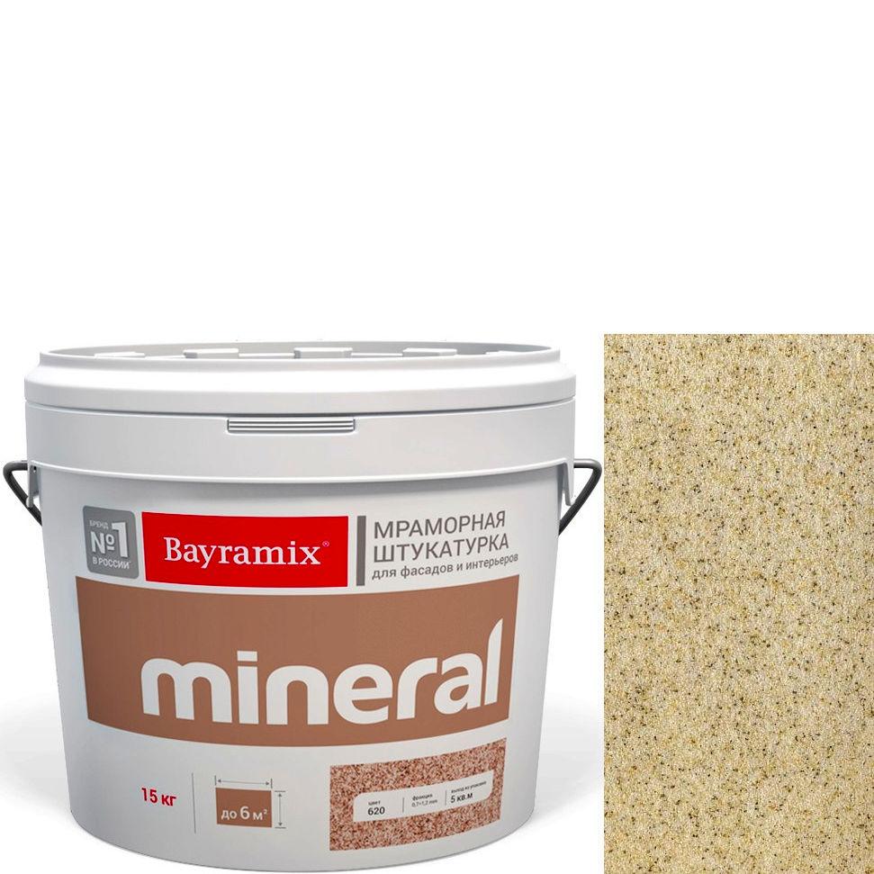 "Фото 8 - Мраморная штукатурка Байрамикс ""Минерал 057"" (Mineral цвет Saftas) мозаичная, фракция 0,5-0,7 мм [15кг] Bayramix."