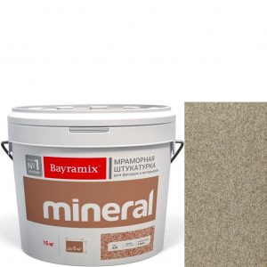 "Фото 9 - Мраморная штукатурка Байрамикс ""Минерал 058"" (Mineral цвет Saftas) мозаичная, фракция 0,5-0,7 мм [15кг] Bayramix."