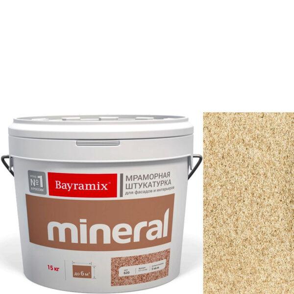 "Фото 1 - Мраморная штукатурка Байрамикс ""Минерал 381"" (Mineral цвет Saftas) мозаичная, фракция 0,7-1,2 мм  [15кг]  Bayramix."