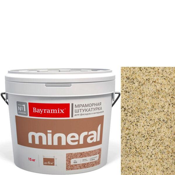 "Фото 1 - Мраморная штукатурка Байрамикс ""Минерал 382"" (Mineral цвет Saftas) мозаичная, фракция 0,7-1,2 мм  [15кг]  Bayramix."