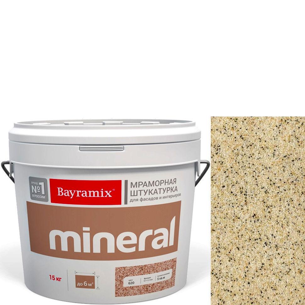 "Фото 16 - Мраморная штукатурка Байрамикс ""Минерал 383"" (Mineral цвет Saftas) мозаичная, фракция 0,7-1,2 мм [15кг] Bayramix."