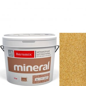 "Фото 18 - Мраморная штукатурка Байрамикс ""Минерал 385"" (Mineral цвет Saftas) мозаичная, фракция 0,7-1,2 мм [15кг] Bayramix."
