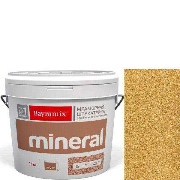"Фото 1 - Мраморная штукатурка Байрамикс ""Минерал 385"" (Mineral цвет Saftas) мозаичная, фракция 0,7-1,2 мм  [15кг]  Bayramix."