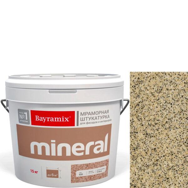 "Фото 1 - Мраморная штукатурка Байрамикс ""Минерал 387"" (Mineral цвет Saftas) мозаичная, фракция 0,7-1,2 мм  [15кг]  Bayramix."