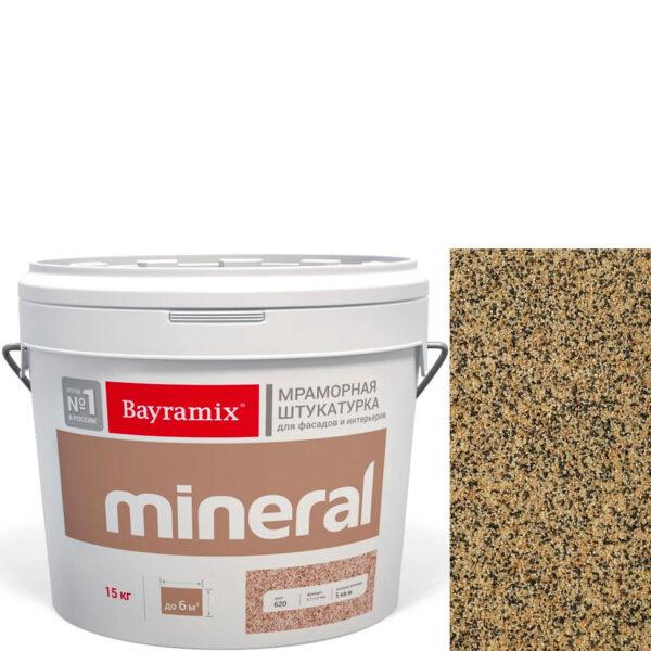 "Фото 1 - Мраморная штукатурка Байрамикс ""Минерал 388"" (Mineral цвет Saftas) мозаичная, фракция 0,7-1,2 мм  [15кг]  Bayramix."