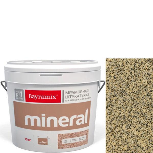 "Фото 1 - Мраморная штукатурка Байрамикс ""Минерал 389"" (Mineral цвет Saftas) мозаичная, фракция 0,7-1,2 мм  [15кг]  Bayramix."