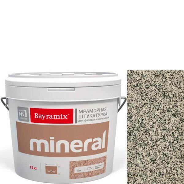 "Фото 1 - Мраморная штукатурка Байрамикс ""Минерал 390"" (Mineral цвет Saftas) мозаичная, фракция 0,7-1,2 мм  [15кг]  Bayramix."