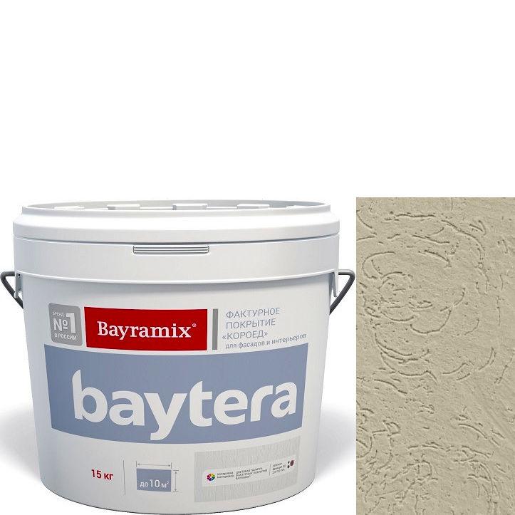 """Фото 1 - Текстурное покрытие """"Байтера Короед 062"""" (Baytera) фактурное для внутр/наружных работ  [крупная фракция (K) 2,5 - 3 мм] [15кг]  Bayramix."""