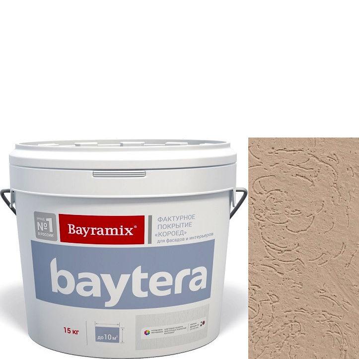 """Фото 10 - Текстурное покрытие """"Байтера Короед 065"""" (Baytera) фактурное для внутр/наружных работ  [крупная фракция (K) 2,5 - 3 мм] [15кг]  Bayramix."""