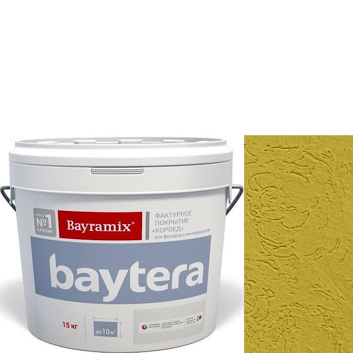 """Фото 13 - Текстурное покрытие """"Байтера Короед 066"""" (Baytera) фактурное для внутр/наружных работ  [крупная фракция (K) 2,5 - 3 мм] [15кг]  Bayramix."""