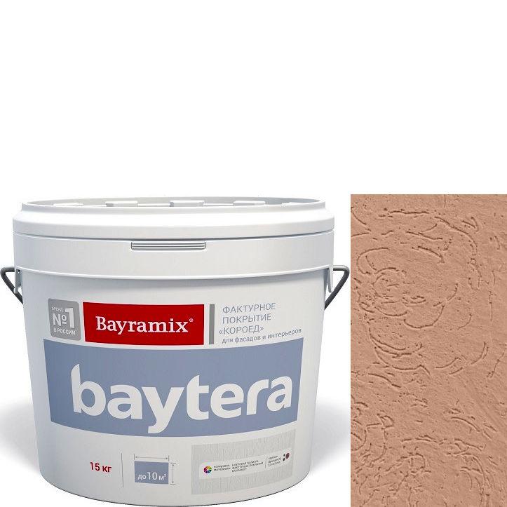 """Фото 16 - Текстурное покрытие """"Байтера Короед 067"""" (Baytera) фактурное для внутр/наружных работ  [крупная фракция (K) 2,5 - 3 мм] [15кг]  Bayramix."""