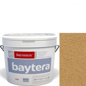 """Фото 19 - Текстурное покрытие """"Байтера Короед 068"""" (Baytera) фактурное для внутр/наружных работ  [крупная фракция (K) 2,5 - 3 мм] [15кг]  Bayramix."""