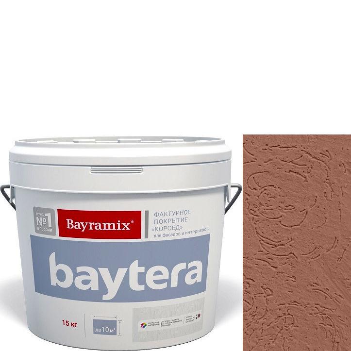 """Фото 22 - Текстурное покрытие """"Байтера Короед 069"""" (Baytera) фактурное для внутр/наружных работ  [крупная фракция (K) 2,5 - 3 мм] [15кг]  Bayramix."""