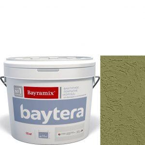 """Фото 15 - Текстурное покрытие """"Байтера Мокрая стена 094"""" (Baytera) фактурное для внутр/наруж работ  [микро фракция (S) 1,0 - 1,5 мм] [15кг]  Bayramix."""