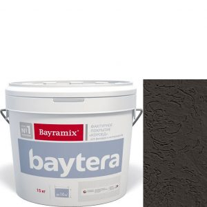 """Фото 9 - Текстурное покрытие """"Байтера Мокрая стена 096"""" (Baytera) фактурное для внутр/наруж работ  [микро фракция (S) 1,0 - 1,5 мм] [15кг]  Bayramix."""