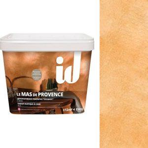 """Фото 10 - Штукатурка АйДи Деко """"Le Mas de Provence Марсель"""" декоративная с эффектом """"Прованс""""  [15кг] ID Deco."""