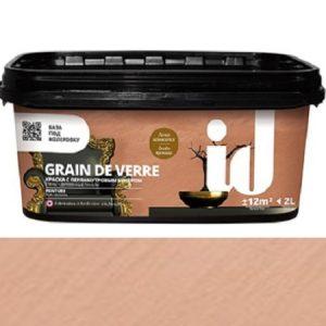 "Фото 8 - Краска АйДи Деко ""Grain de Verre Миледи"" с перламутровым бисером  [2л] ID Deco."