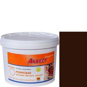 """Фото 1 - Краска резиновая """"Аквест -25 Мастер"""" Шоколадная, полуматовая с гидроизолирующими свойствами-12 кг."""