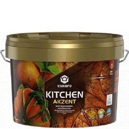 "Фото 20 - Краска Ескаро ""Акцент Китчен"" (Akzent Kitchen) матовая интерьерная  [0.9л] цвет [База TR] Eskaro."