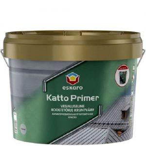 """Фото 3 - Краска Ескаро-Грунт """"Катто"""" (Katto Primer) матовая для оцинкованных и металлических поверхностей """"Eskaro"""" [2.7л] Eskaro."""