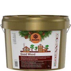 """Фото 2 - Антисептик Ескаро """"Гуд Вуд"""" (Good Wood) Бесцветный, водный на масляной основе для дерева  [9л] Eskaro."""