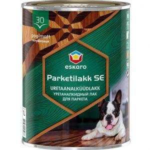 """Фото 9 - Лак Ескаро """"ПаркетЛак Ескаро СЕ 30"""" (Parketilakk SE 30) уретан-алкидный полуматовый для пола  [2.5л] цвет [Бесцветный] Eskaro."""