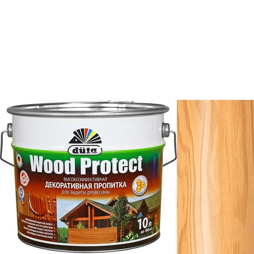 """Фото 13 - Пропитка Дюфа """"Вуд Протект"""" (Wood Protect) Сосна, полуматовая для защиты древесины [10л] Dufa."""