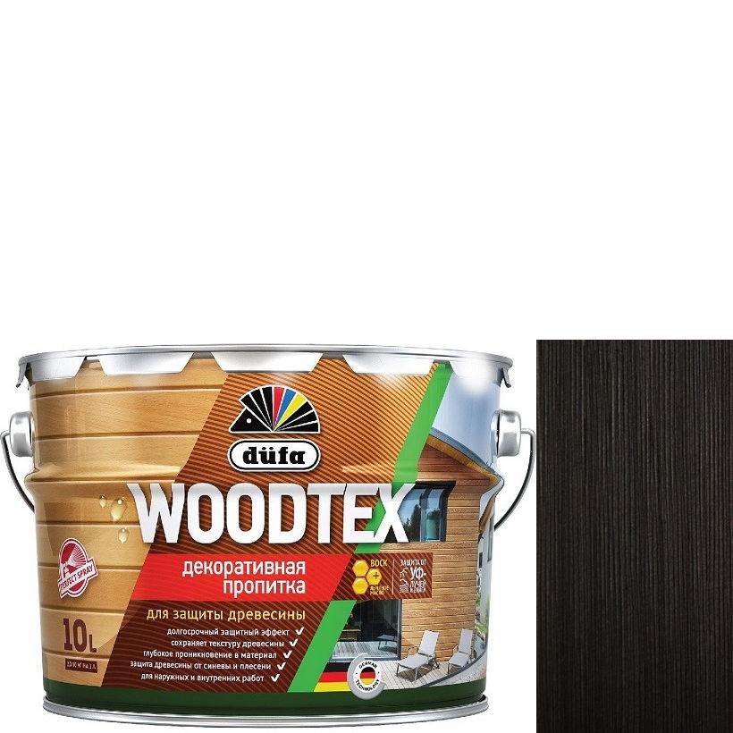 """Фото 5 - Пропитка Дюфа """"Вуд Текс"""" (Woodtex) Венге, алкидная полуматовая для защиты древесины [10л] Dufa."""