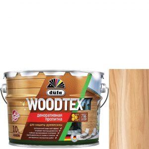 """Фото 8 - Пропитка Дюфа """"Вуд Текс"""" (Woodtex) Дуб, алкидная полуматовая для защиты древесины  [10л] Dufa."""