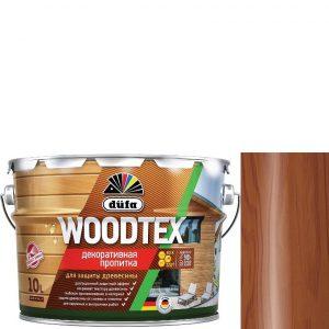 """Фото 11 - Пропитка Дюфа """"Вуд Текс"""" (Woodtex) Махагон, алкидная полуматовая для защиты древесины  [10л] Dufa."""