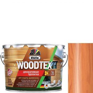 """Фото 14 - Пропитка Дюфа """"Вуд Текс"""" (Woodtex) Орегон, алкидная полуматовая для защиты древесины  [10л] Dufa."""