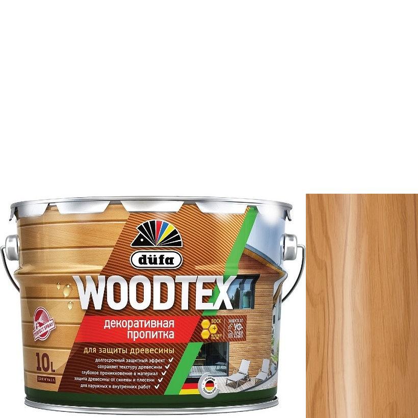 """Фото 17 - Пропитка Дюфа """"Вуд Текс"""" (Woodtex) Орех, алкидная полуматовая для защиты древесины [10л] Dufa."""