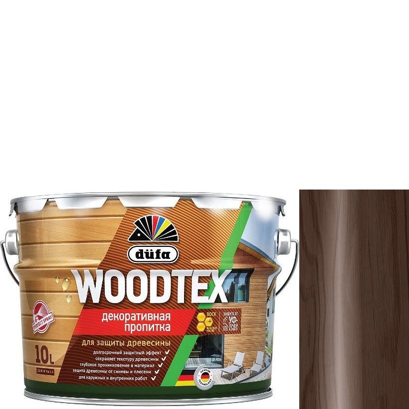 """Фото 20 - Пропитка Дюфа """"Вуд Текс"""" (Woodtex) Палисандр, алкидная полуматовая для защиты древесины [10л] Dufa."""