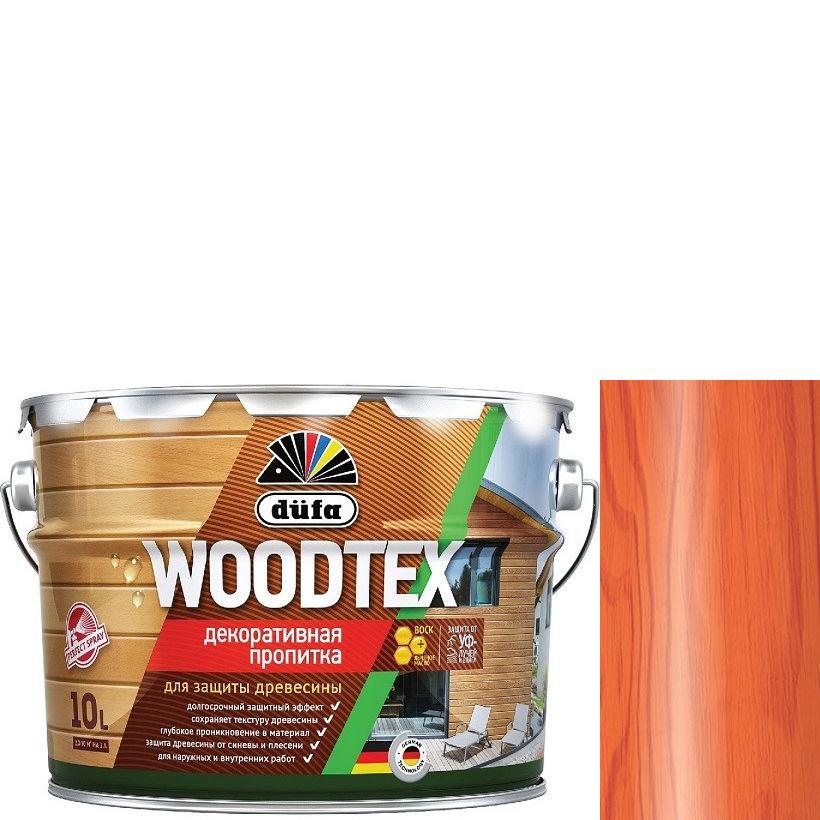 """Фото 23 - Пропитка Дюфа """"Вуд Текс"""" (Woodtex) Рябина, алкидная полуматовая для защиты древесины [10л] Dufa."""
