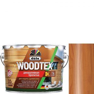 """Фото 2 - Пропитка Дюфа """"Вуд Текс"""" (Woodtex) Тик, алкидная полуматовая для защиты древесины  [3л] Dufa."""