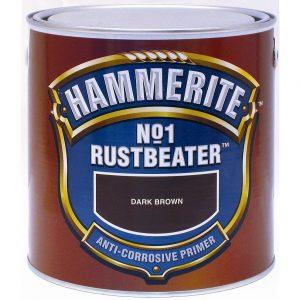 """Фото 1 - Грунт Хаммерайт """"No1 Rust Beater"""" для усиления антикоррозионной защиты  [2.5л] Hammerite."""