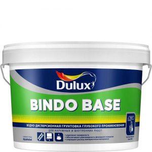 """Фото 1 - Грунтовка """"Bindo Base"""" глубокого проникновения универсальная [2.5л] Dulux."""