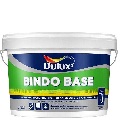 """Фото 9 - Грунтовка """"Bindo Base"""" глубокого проникновения универсальная [2.5л] Dulux."""